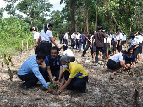 โครงการปลูกจิตสำนึกรักษาทรัพยากรธรรมชาติและป่าไม้