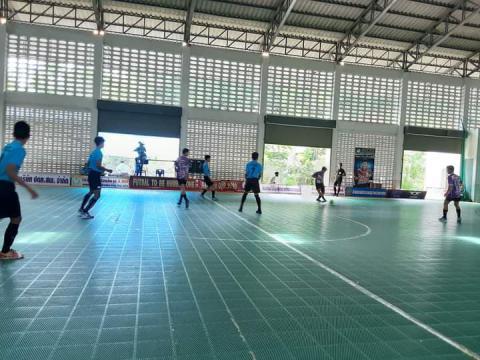 ฟุตซอล To be number one cup 2020 15-16 สิงหาคม 2563 ณ โรงเรียนเพ